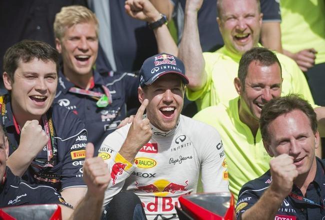 Sebastian Vettel Wins Canadian Grand Prix