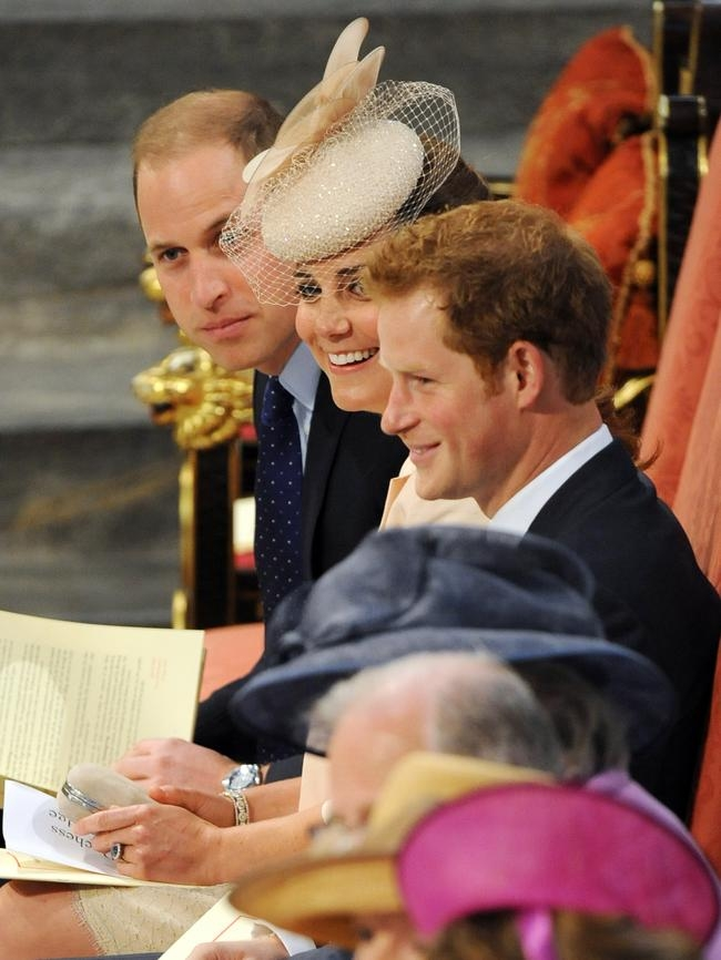 Queen Elizabeth II Attends Westminster Abbey Service To Mark 60th Anniversary Of Her Coronation