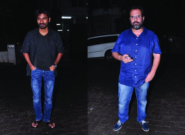 Dhanush and Aanand L Rai