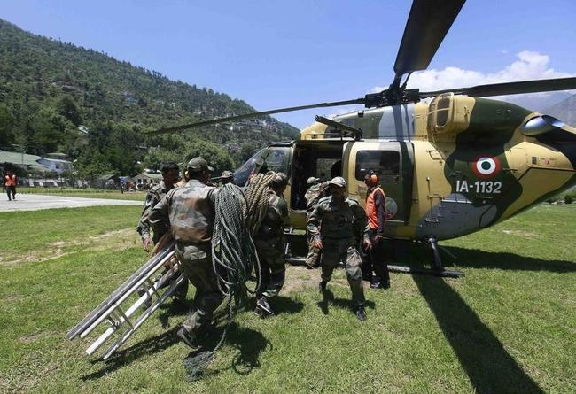 Rescue operation at Joshimath