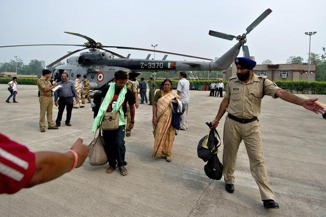 Rescue operation at Dehradun