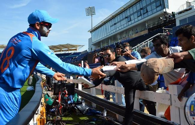 Dhoni and Co. Shine at Cardiff