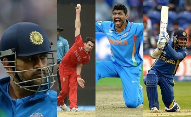 The ICC Champions Trophy Team