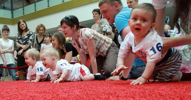 Baby Race in Lithuania
