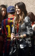 Bruna Marquezine at Camp Nou