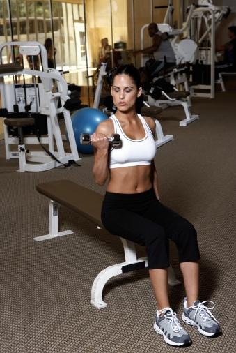 20 Upper Body Workouts for Men Dumbbell bench press