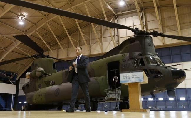 New CH-147F Chinook Helicopter