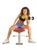 20 Upper Body Workouts for Men Seated dumbbell curl