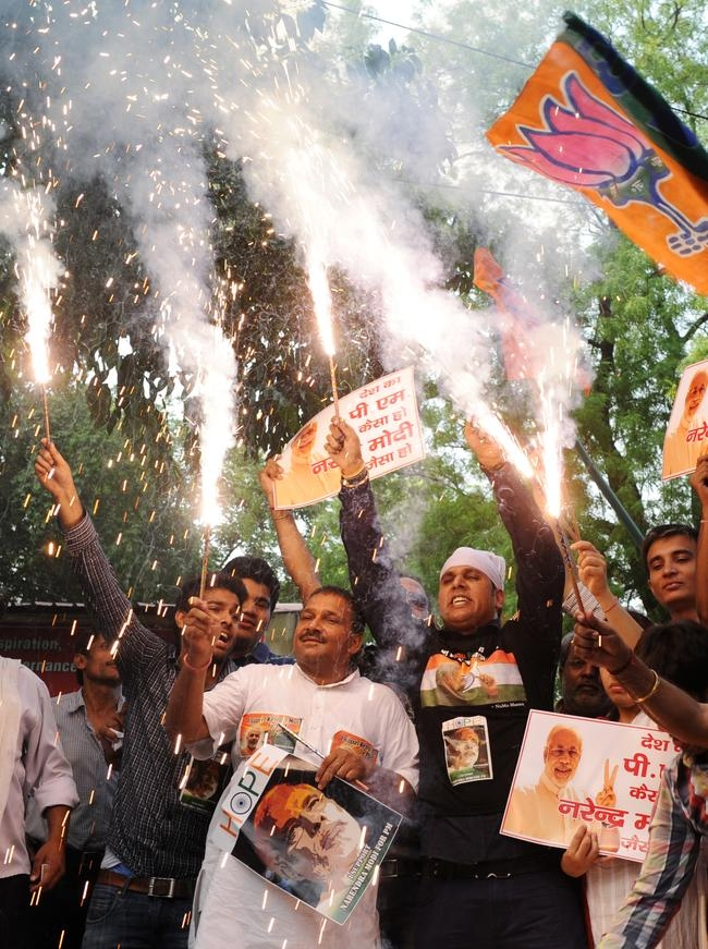 Celebrating Narendra Modi