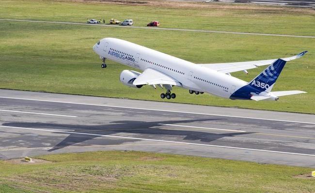 Airbus A350 Next-Gen Plane