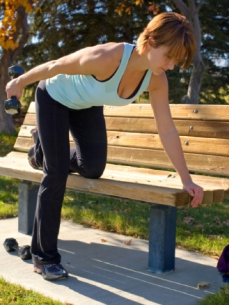 Workouts: 20 Best Home Workouts: Tricep Extensions