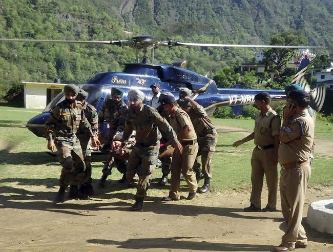 Rescue operation at Hemkund