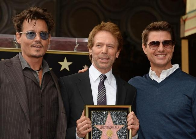 US - ENTERTAINMENT - JERRY BRUCKHEIMER - STAR ON THE HOLLYWOOD W