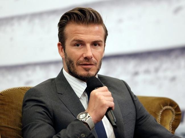 David Beckham Visits China
