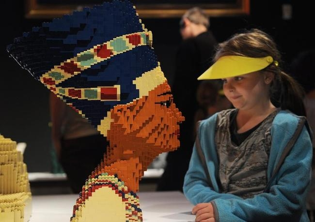 Lego Exhibition in New York