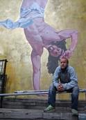 Controversial Mural Of Breakdancing Jesus