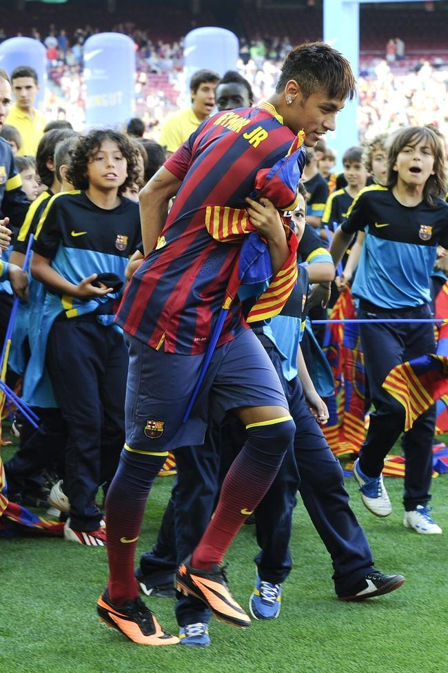 Neymar at Camp Nou