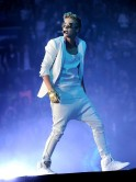 Justin Bieber Performs At The Staples Center