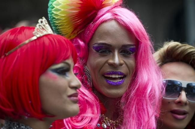 Colourful Sao Paulo Gay Pride