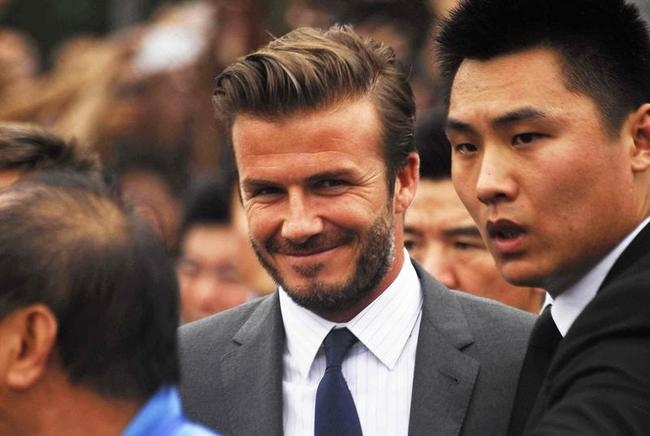 Stampede at David Beckham Event in China