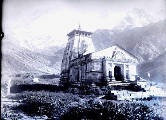 Kedernath Temple 1882