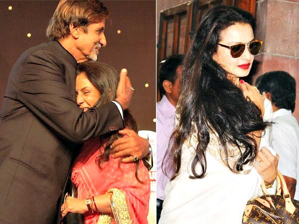Amitabh Bachchan, Jaya & Rekha