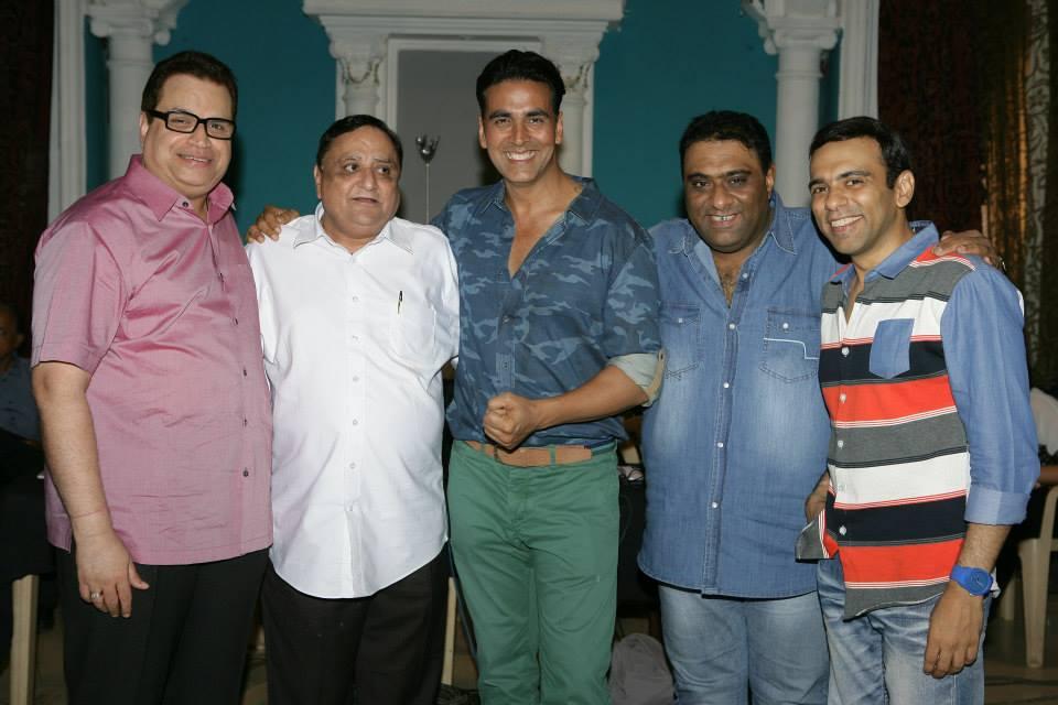 Ramesh Taurani, Vikas Mohan, Akshay Kumar, directors Sajid-Farhad
