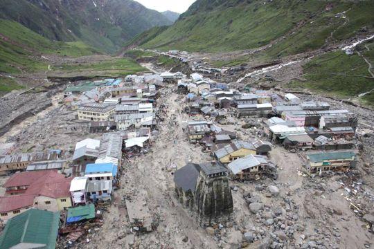Kedarnath post the mayhem 2013