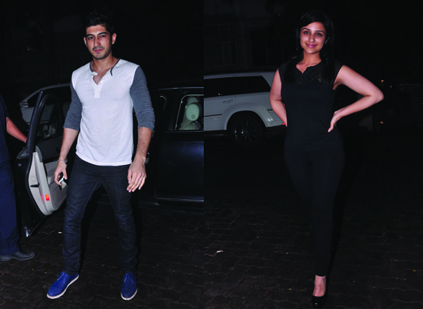 Mohit Marwah and Parineeti Chopra