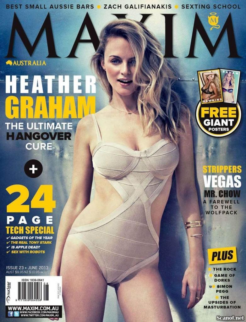 American actress Heather Graham