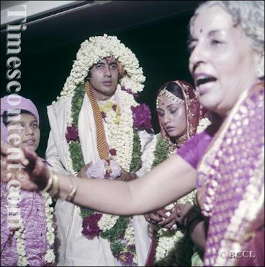 AMITABH BACHCHAN JAYA WEDDING