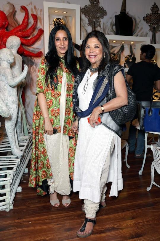 Anamika Khanna and Ritu Kumar at the Vogue Wedding Show