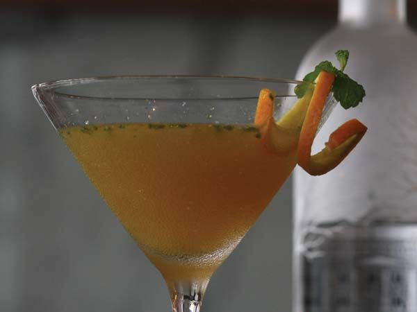Orange & Ginger Martini