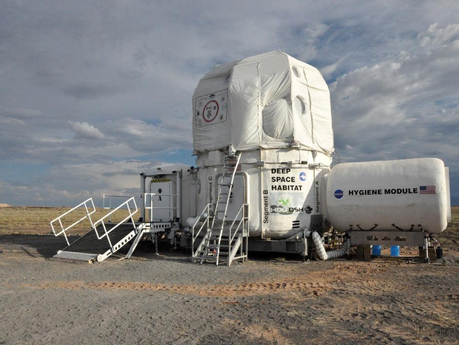 Deep Space Habitat and X-Hab Loft