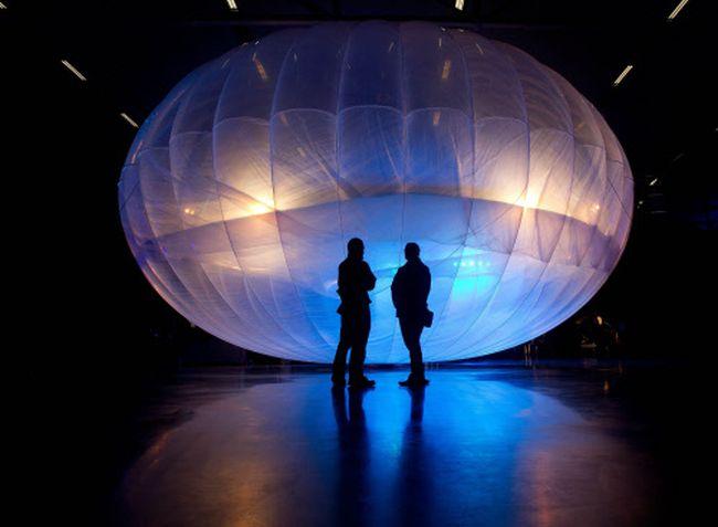 Google Project Loon Balloon