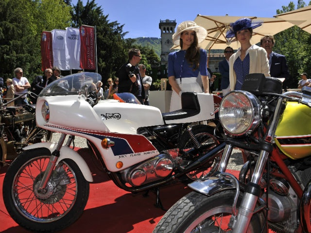 Motorcycles at the Concorso d