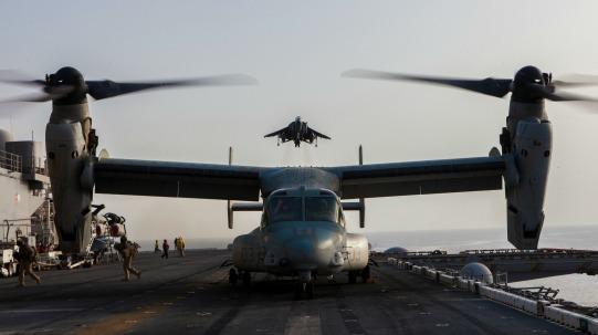 MV-22 Osprey Aircraft