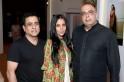 Raj Mahtani, Anamika Khanna and Tarun Tahiliani at the Vogue Wedding Show
