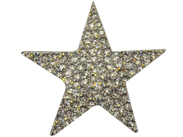 Star-shaped brooch