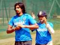 Sachin Tendulkar and Ishant Sharma