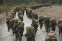 Female Marines Participate In Marine Combat Training At Camp LeJeune