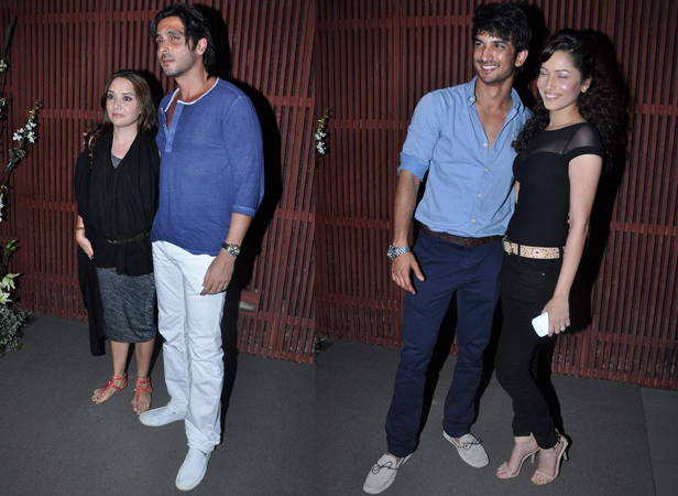 Zayed Khan with wife Malaika, Sushant Singh Rajput with girlfriend Ankita Lokhande