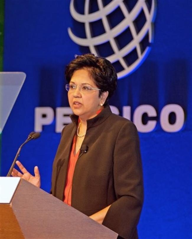 No.3: Indra Nooyi- PepsiCo Chairman and CEO