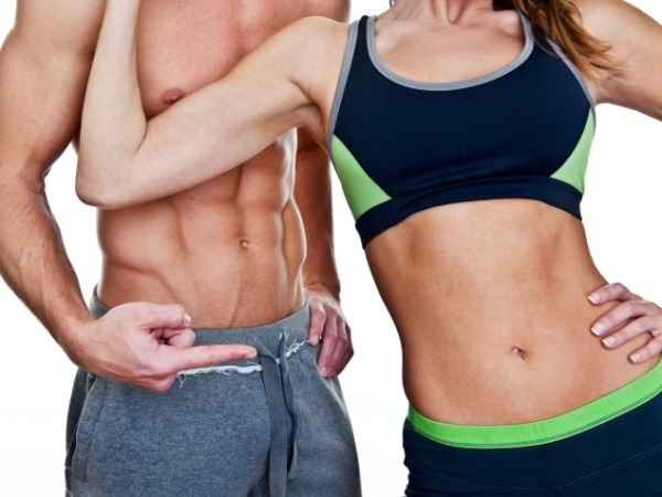 How to burn stomach fat and gain muscle