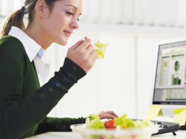 Healthy Fast Food Eating Tip # 5: Eat slowly