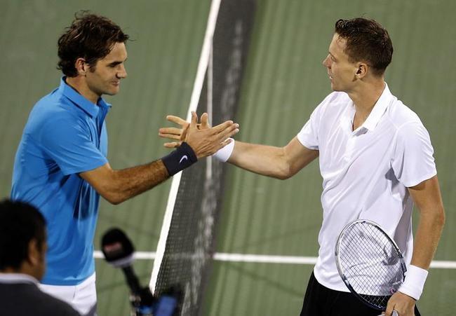 Tomas Berdych Stuns Roger Federer in Dubai