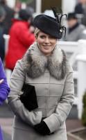 Celebrities at Cheltenham Race