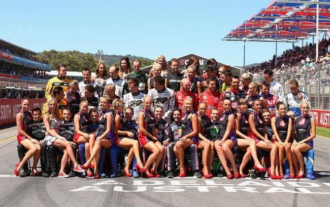 Charming Grid Girls in Australia
