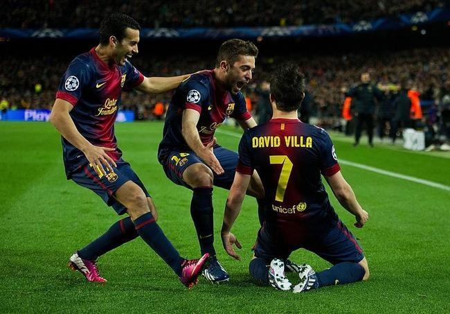Barcelona Crush AC Milan, Enter CL Quarters