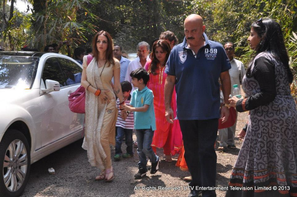 Suzanne and Rakesh Roshan